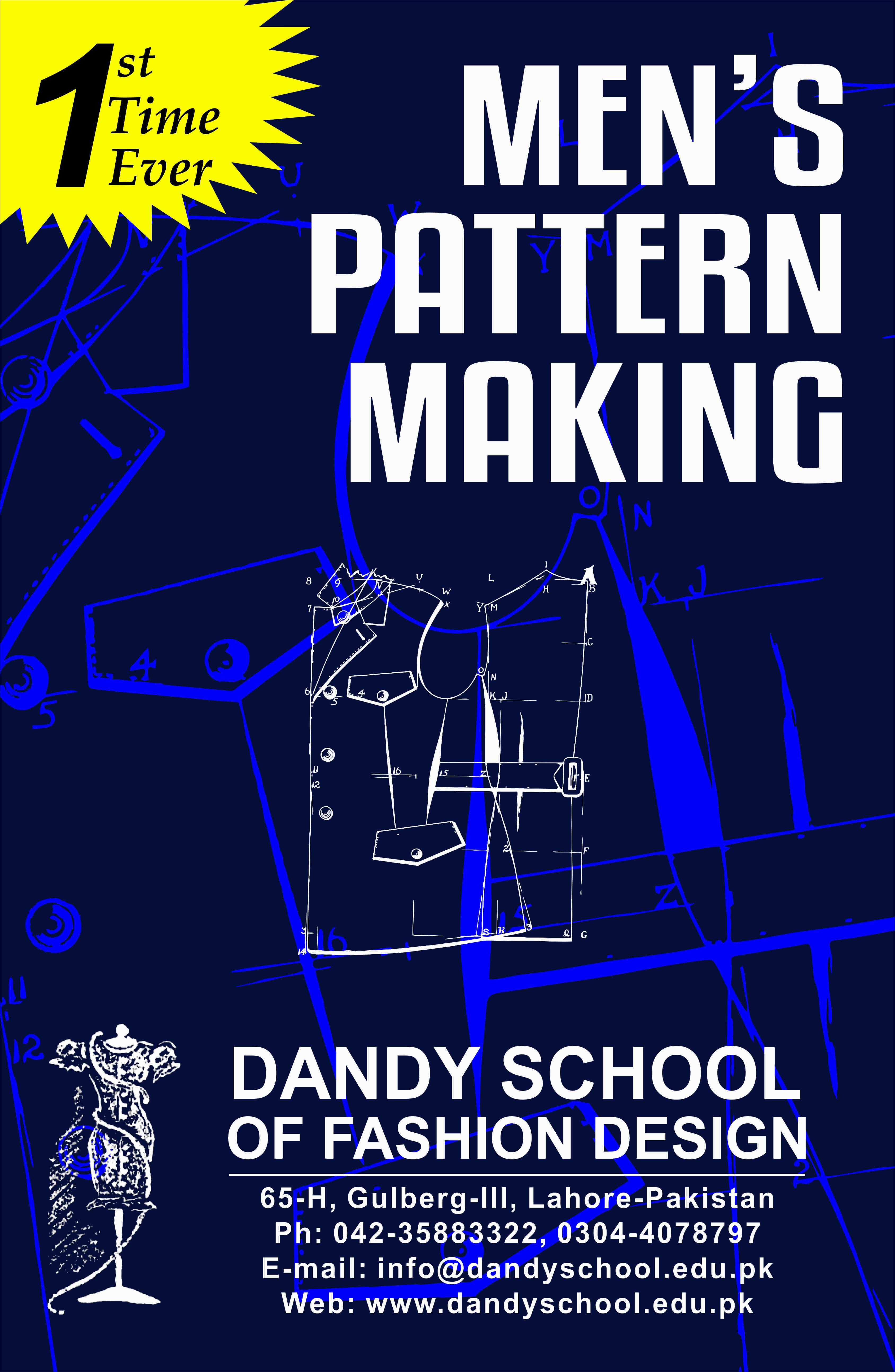 Men's Pattern Making – 2017